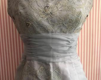 Gorgeous Vintage 1950's Formal Cocktail Dress-Tiny