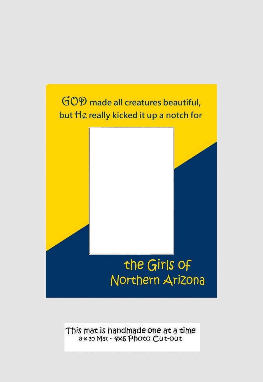 Northern Arizona University Girls Or Grads Picture Frame
