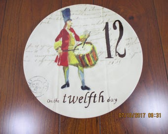 Williams Sonoma Christmas Series Plates - Twelfth Day