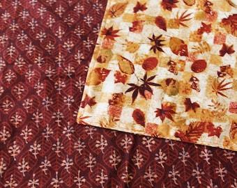 Autumn Leaf Tarot cloth, altar cloth, Runes cloth, tarot mat, tarot gift, rune cloth, spread cloth, oracle cloth, table cloth, wicca gift