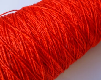 8 m of Red cotton thread for friendship bracelet