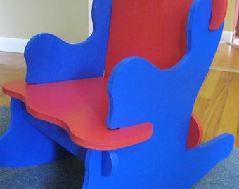 Puzzle Rocking Chair