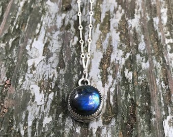 Labradorite Protection Necklace