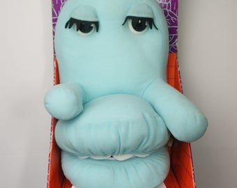 """Pee Wee's Playhouse Chairry Plush Puppet with Moving Eyes and Mouth by Matchbox - In Box - 15"""""""