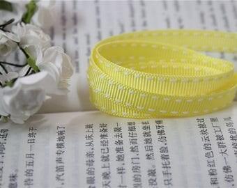 3 m Ribbon grain yellow line white 1 cm