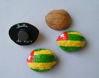 Flag Magnet worldwide Togo
