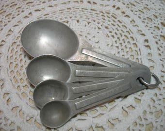 Aluminum Measuring Spoon Set