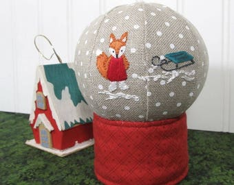 Snowglobe Soft Sculpture Sewing Pattern PDF