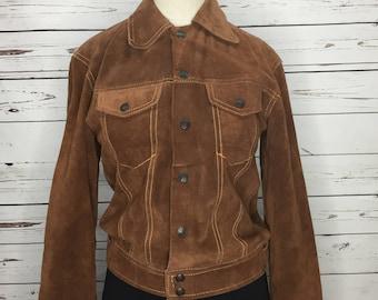 70s vintage suede retro cowboy cowgirl rodeo western jacket