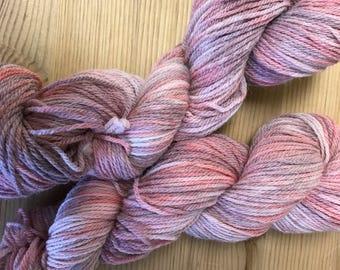 sock yarn - hand dyed Sock yarn -  fingering weight - Variegated Yarn -  Merino  Sock - hand dyed wool- indie dyed yarn - merino wool -