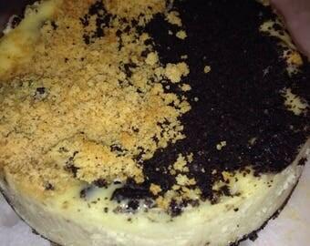 Heads/Tails Oreo Cheesecake