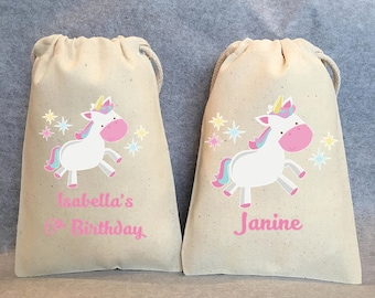 "30- Unicorn Party, Unicorn Birthday, unicorn party favors, Unicorn bags, Unicorn favor bags, Unicorn party favor bags, Unicorn bag, 5""x8"""