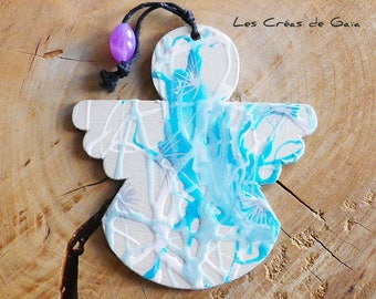 Ange Chochmah • • Suspension for the holiday Christmas Decoration ornament tradition •