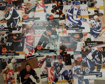 Hockey Cards, 1991, Pro Set Trading Cards - sell by the lot