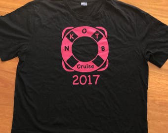New Kids on the Block NKOTB Cruise Tee | T-shirt