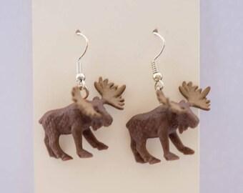 Moose Spirit Animal Earrings