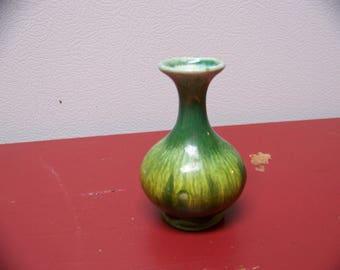 mini drip glaze vase