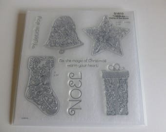 Close to my heart clear stamp set Yuletide joy