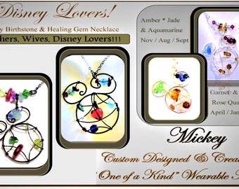 Unique Disney jewelry,hand made disney jewelry,unique disney,Disney Lover gift,mickey jewelry,handmade