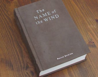 The Name of the Wind - Leather bound book