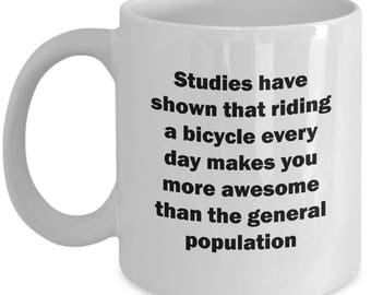 Riding a Bicycle Funny Mug Gift Cycling Cycle Bicycling Ride Bike Sarcastic Coffee Cup