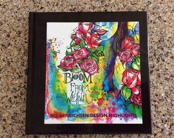 8x8 Hardcover 20-Page Jill Henrichsen Artwork Features