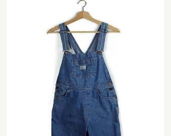 ON SALE Vintage Levi's Overalls  Bib Shorts /All in One Carpenter/Farmer/Gardening