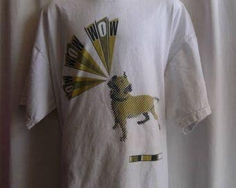 Bow Wow Wow (Annabella Lwin / new wave) 1997 Concert Reunion T-shirt XL/White