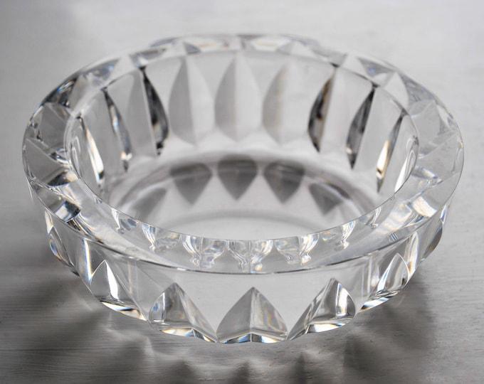 Orrefors Glass Bowl Mid Century Modern Carl Arthur Percy 1970's