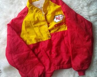 Kansas City Chiefs Jacket 1970s Vintage Football NFL Jacket