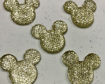 5 Mickey Mouse Crystal Flatback Resins