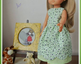 Darling doll outfit: summer dress