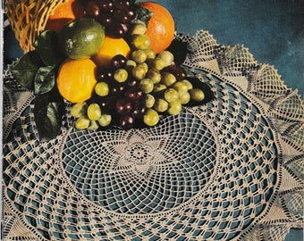 DIGITAL DOWNLOAD  Vintage Pricilla Doilies to Crochet Pattern Booklet