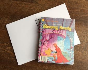Sleeping Beauty Disney Autograph Book - Sleeping Beauty Journal - Sleeping Beauty Autograph Notebook with blank pages