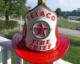 TEXACO FIRE CHIEF Hat Circa 1965 at Ancient of Daze