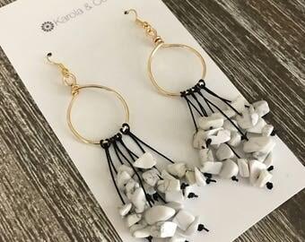 Bohemian Chandalier Earrings