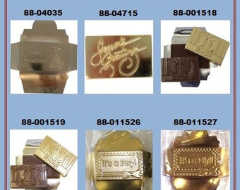 Talking Candy Bar Chocolate Molds (D)