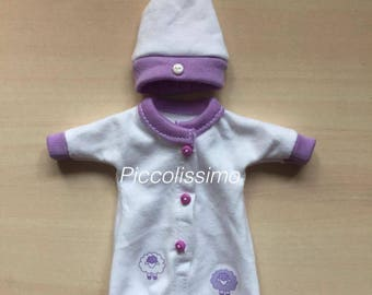 """5"""" sheep gown set"""