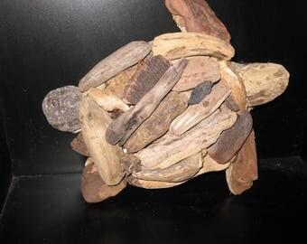 Driftwood Sea Turtle