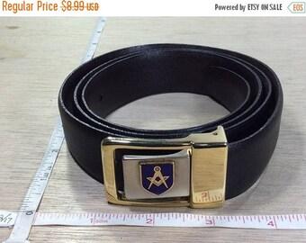 """10% OFF 3 day sale Vintage Masons Masonic 36"""" Belt Gently Used"""