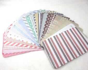 Masking Sticker Set, 27 sheets (1655)