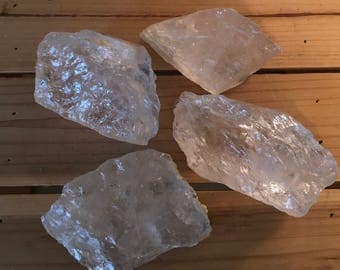 Natural Premium Clear Quartz Chunks, Healing Crystal, Healing Stone