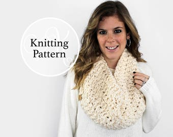 Knitting Pattern Anacostia Cowl Instant Download