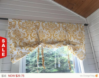 Tie Up Curtain Etsy