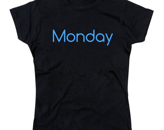 Ladies Blue Monday Tshirt