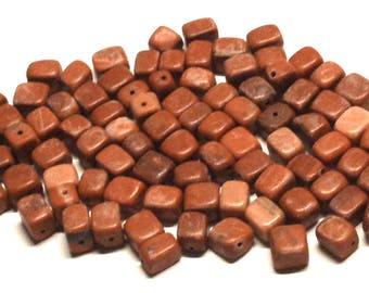 Destash Mixed Lot of 3.4 Oz. of Stone Beads, Destash Beads, Destash Stone Beads, Stone Beads Lot