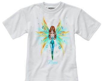 Personalised T-Shirt - Fairy - Name - Style 10
