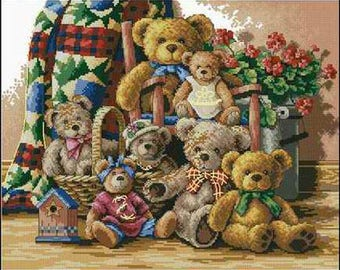 Dimensions The Gold Collection Teddy Bear Gathering