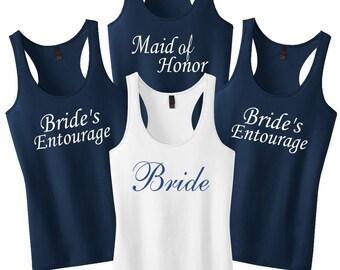 Bridesmaid Shirts, Bachelorette Party Shirts, Bridesmaid Tank Tops, Bridesmaid Gift, Wedding Shirts, Maid Of Honor, Bride Tank Top Shirt
