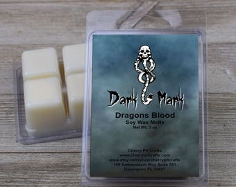 Dark Mark Scented Soy Wax Fragrance Tarts